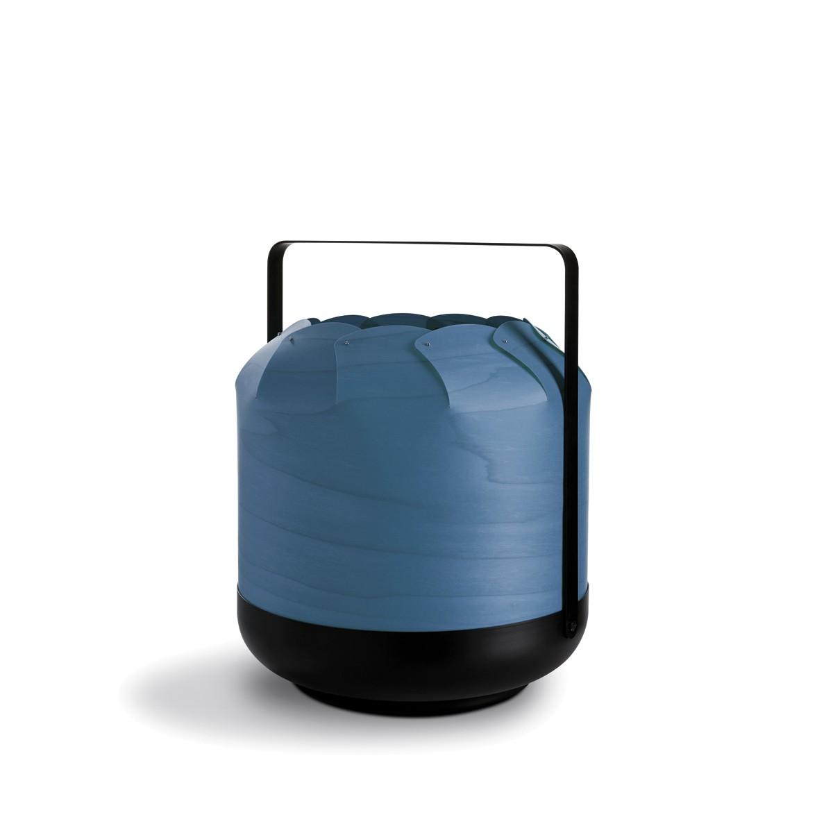 LZF Lamps Chou Short Tischleuchte, blau