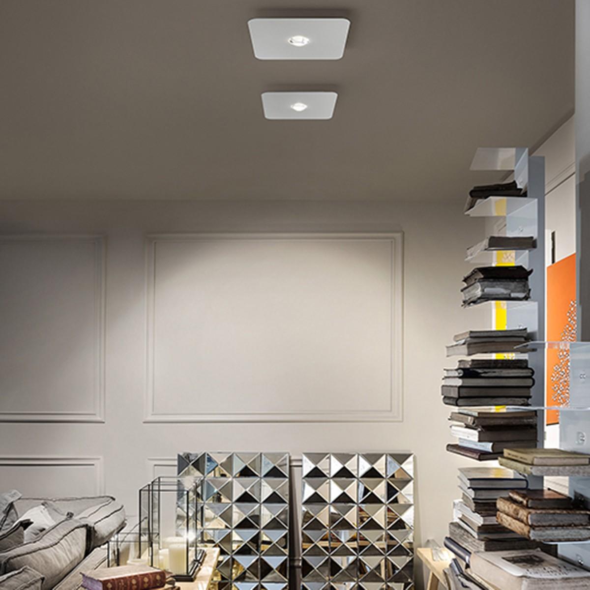 Studio Italia Design Frozen Small Deckenleuchte, weiß matt, 2700 °K