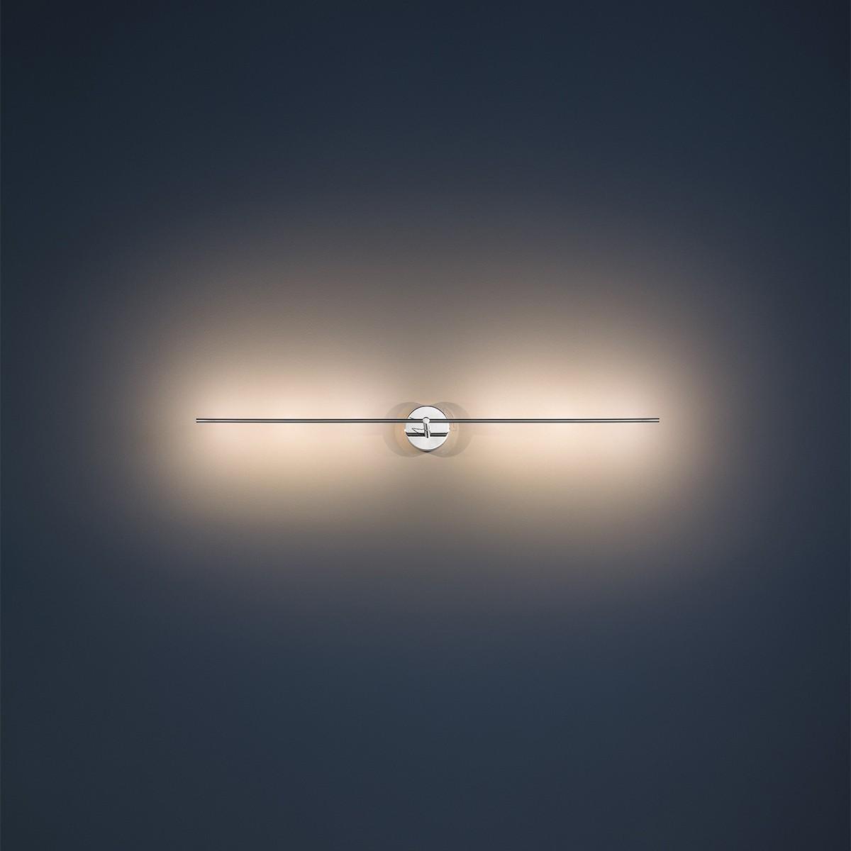 Catellani & Smith Light Stick CW LED Wand- / Deckenleuchte, Breite: 62 cm, Nickel