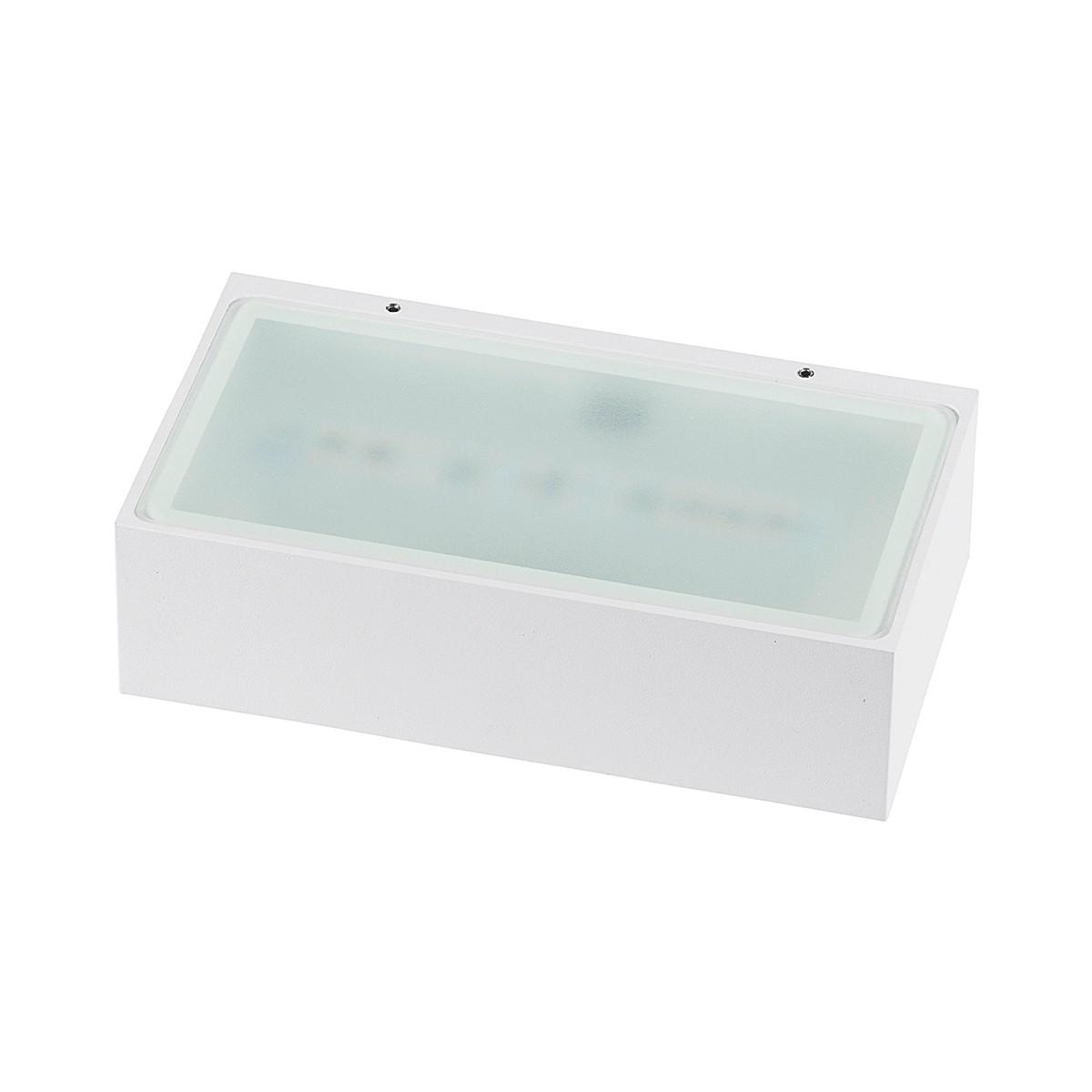 MyLight Bonn LED Wandleuchte, Länge: 18,2 cm, weiß