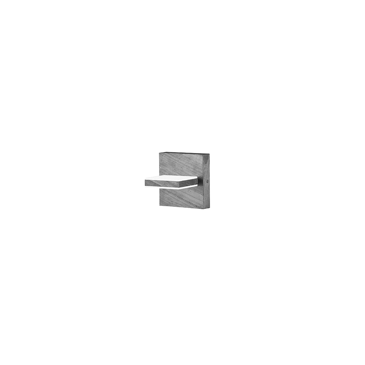Bankamp Linea Stone LED Wandleuchte 4304/1-75