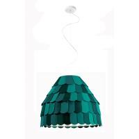 Roofer Pendelleuchte A01, grün