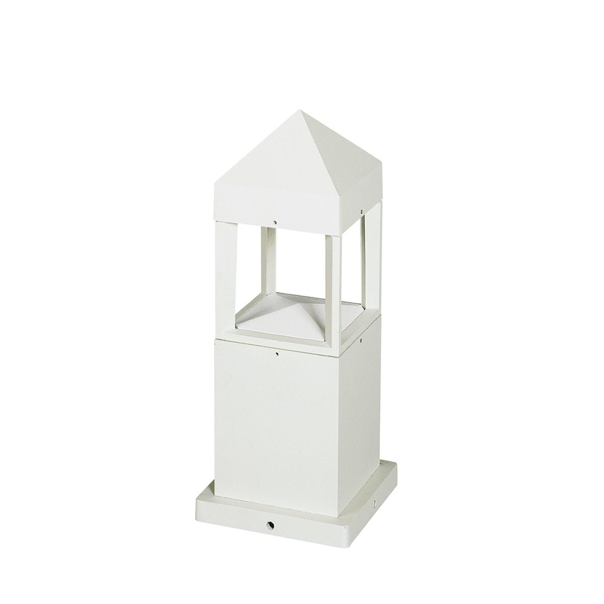Albert 0599 Sockelleuchte LED, weiß