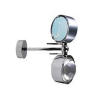 Puk Maxx Side Twin LED, 10 cm, Gehäuse, Chrom