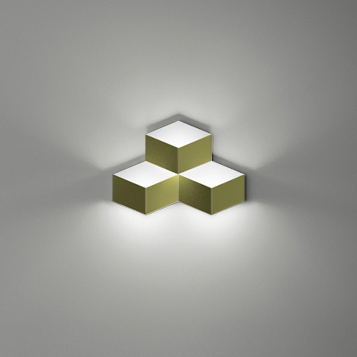 Vibia Fold 4202 Wandleuchte, grün matt
