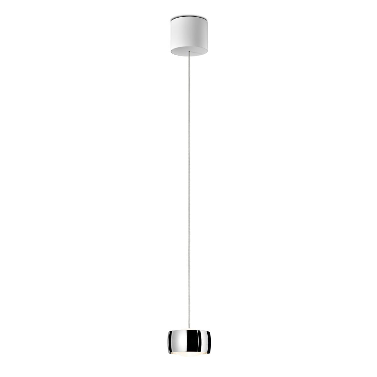 Oligo Grace LED Pendelleuchte, unsichtbare Höhenverstellung, Chrom