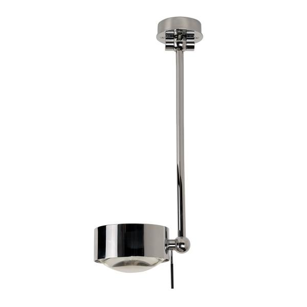 Top Light Puk Maxx Wing Single LED, 40 cm, Chrom, Glas satiniert / Linse klar
