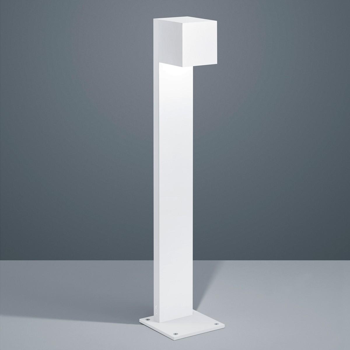 Helestra Siri 44 LED Pollerleuchte, weiß matt
