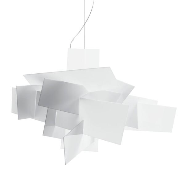 Foscarini Big Bang XL LED Sospensione, bianco (weiß)