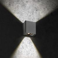 LCD Außenleuchten 5030 Up & Down LED Wandleuchte, graphit