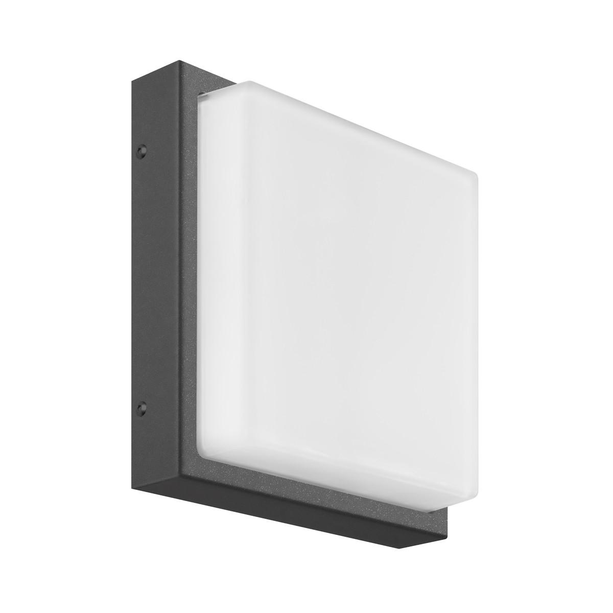 LCD Außenleuchten 045 Wandleuchte LED, graphit, ohne Bewegungsmelder
