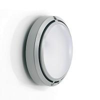 Metropoli 27 LED Parete / Soffitto, Polycarbonat, Gehäuse: Alu lackiert