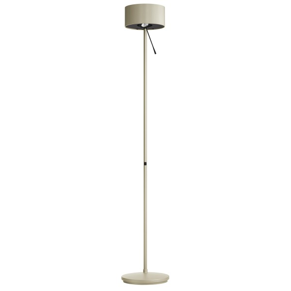Belux Diogenes-10 LED Stehleuchte, graugold