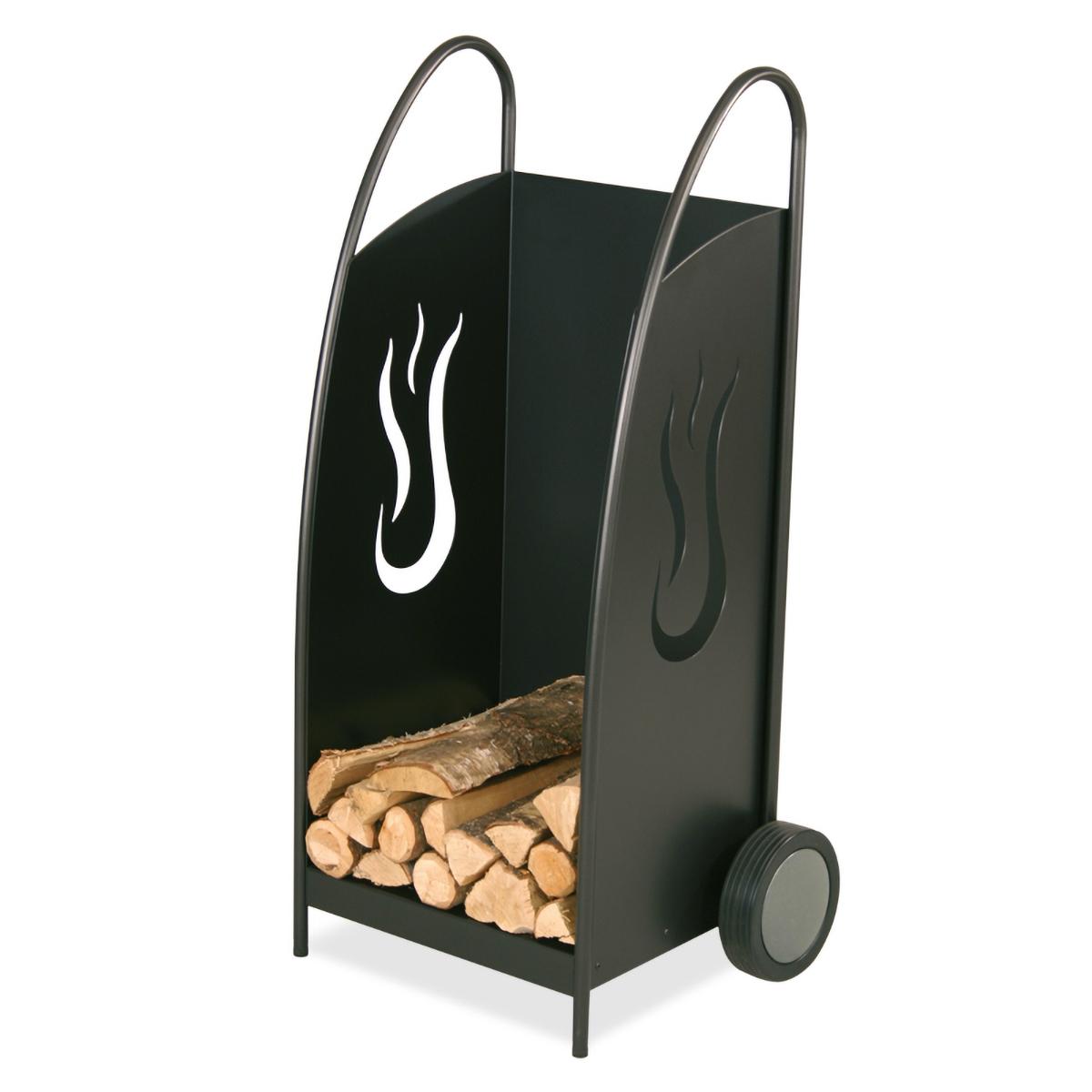 Heibi Fahrbarer Holzwagen Flammen 52323-028