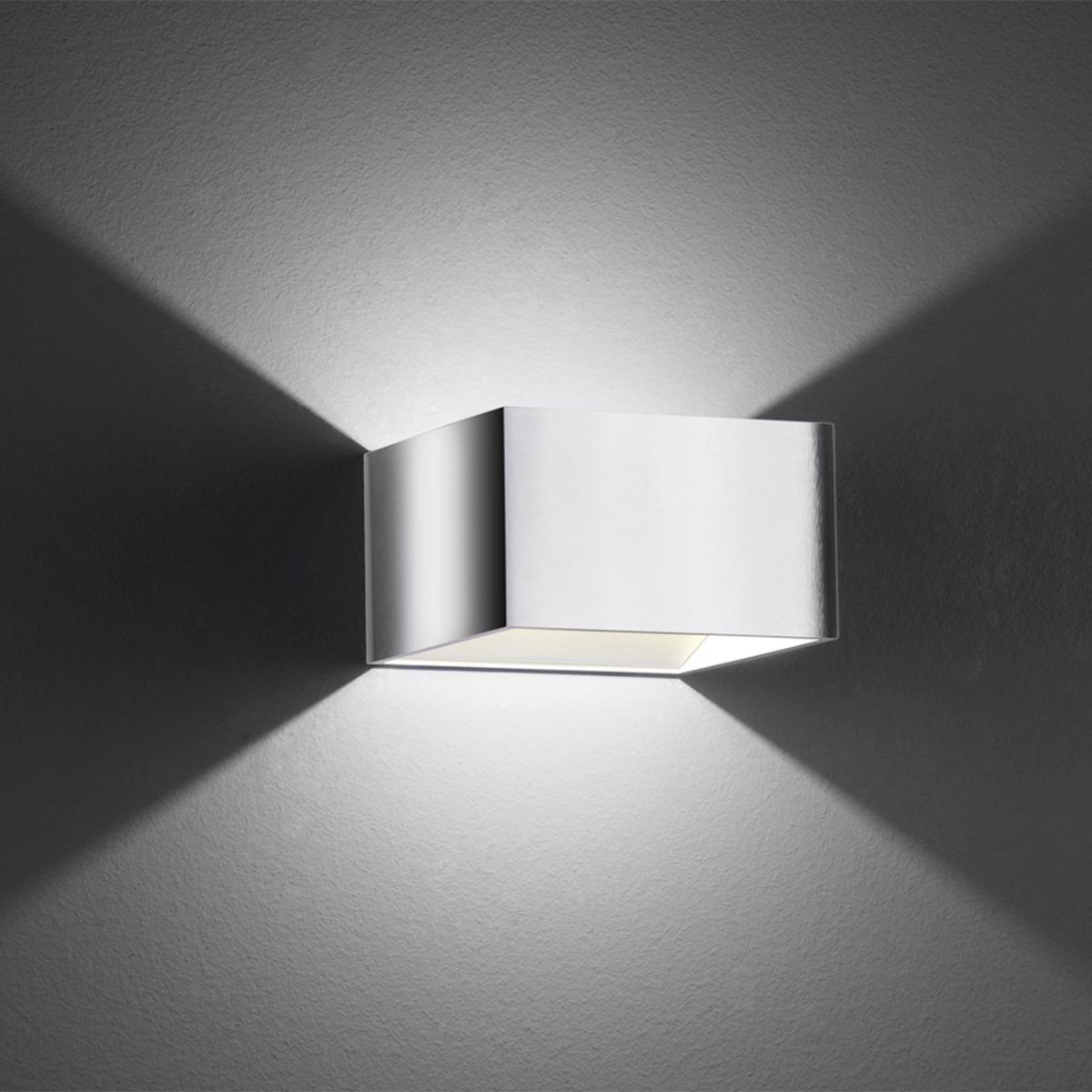 B-Leuchten Cube Wandleuchte 40095/1-02