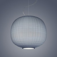 Tartan LED Sospensione, grigio (grau)