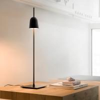 Luceplan Ascent Tavolo, mit Tischfuß, schwarz