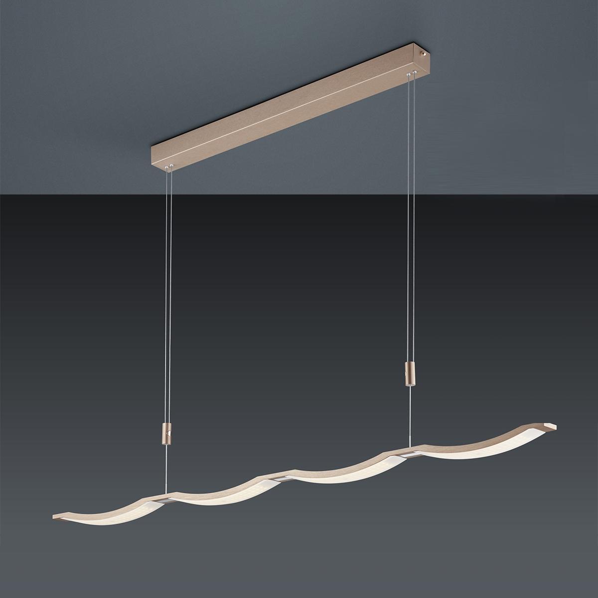 Bankamp Surf LED Pendelleuchte, Auslaufmodell 2139/1-74