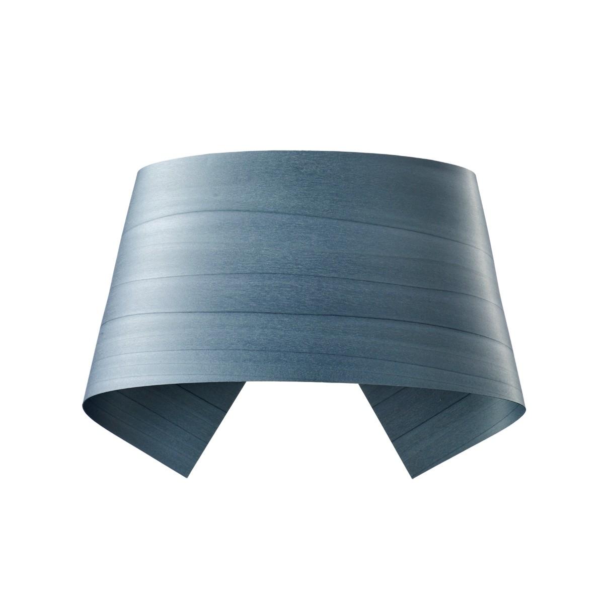 LZF Lamps Hi-Collar LED Wandleuchte, blau