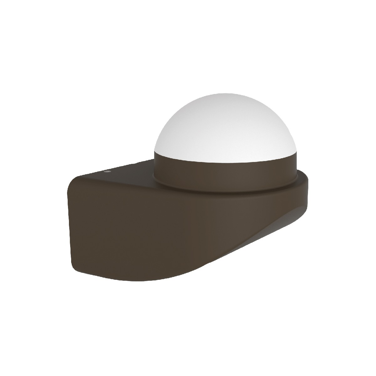 Mobilux Globe Wandleuchte, 1-flg., dunkelgrau