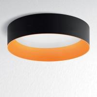 Tagora 970 Deckenleuchte, nicht dimmbar, schwarz - orange