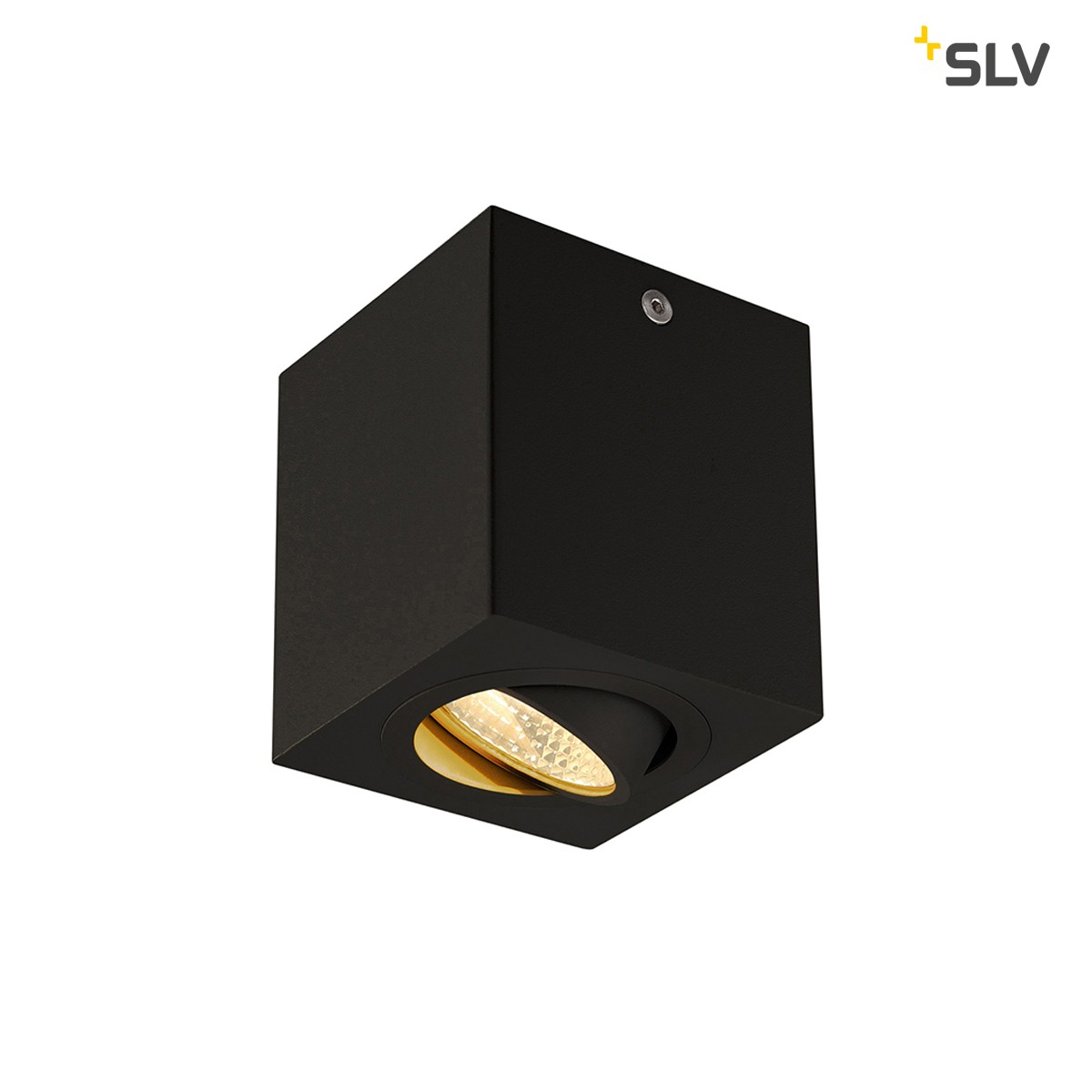 SLV Triledo Square Deckenleuchte, schwarz matt