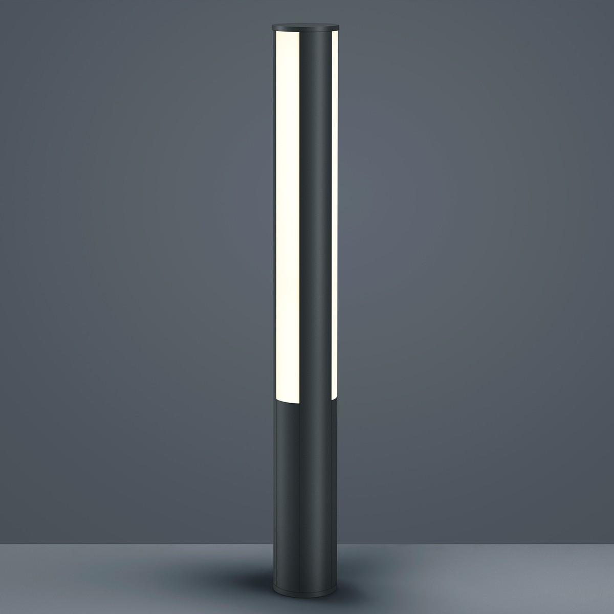 Helestra Pier LED Pollerleuchte, graphit