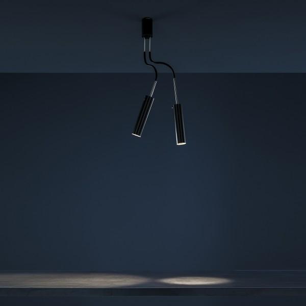 Catellani & Smith Lucenera 206 Deckenleuchte, schwarz