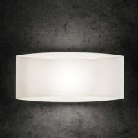 Holtkötter 9502 Wandleuchte LED, Glas weiß