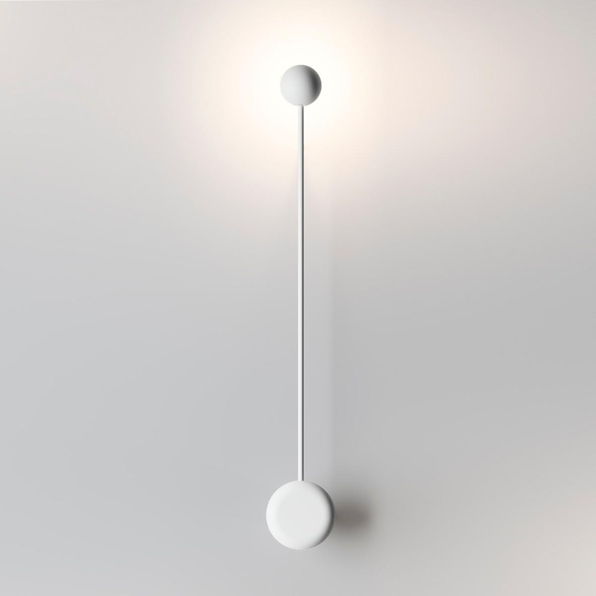 Vibia Pin 1692 Wandleuchte, weiß matt