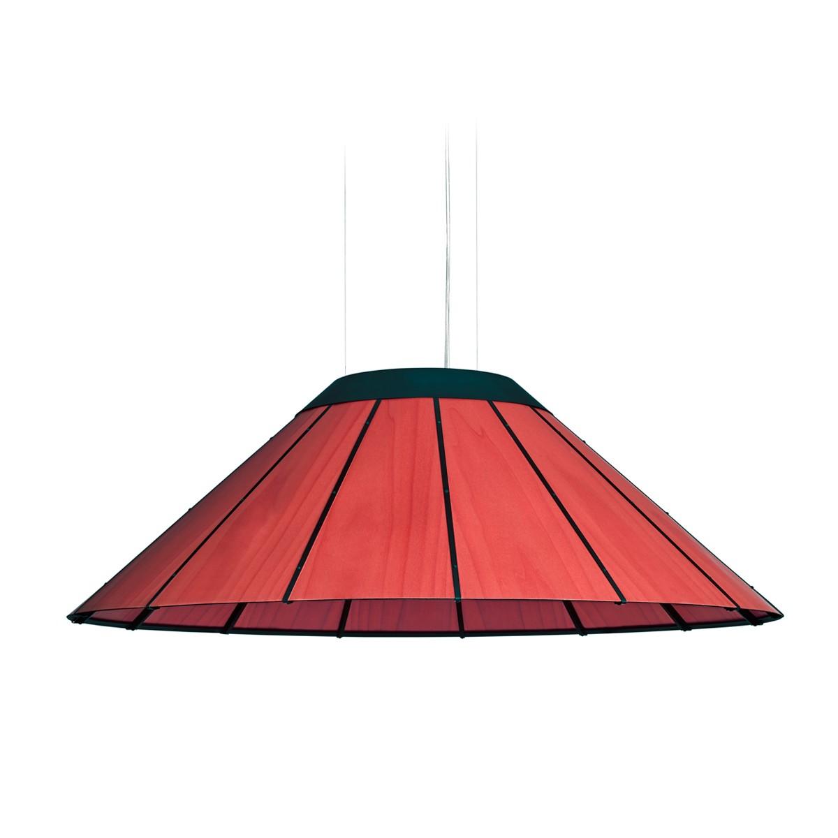 LZF Lamps Banga Medium Pendelleuchte, rot