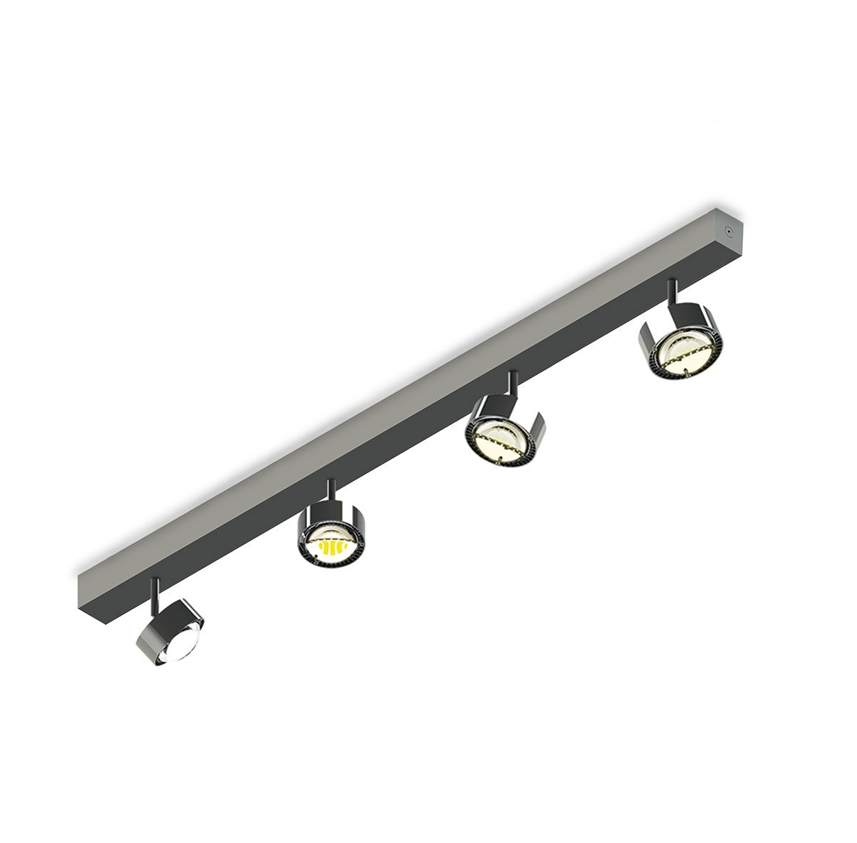Top Light Puk Choice Turn Deckenleuchte, 105 cm