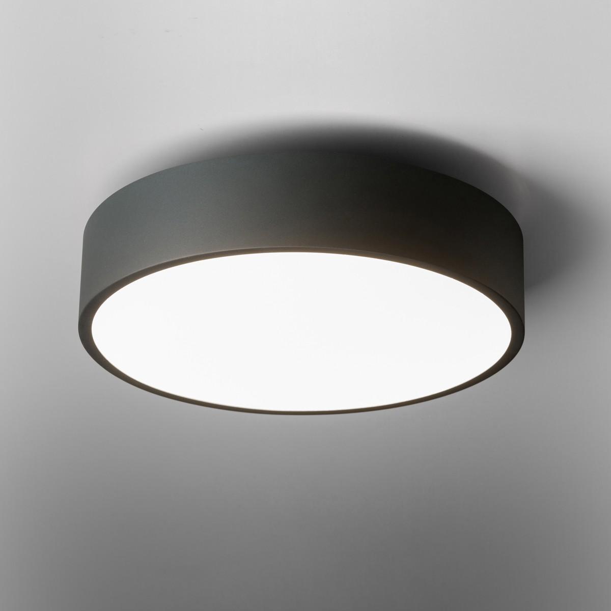 Lupia Licht Cara Wand- / Deckenleuchte, Ø: 40 cm, schwarz