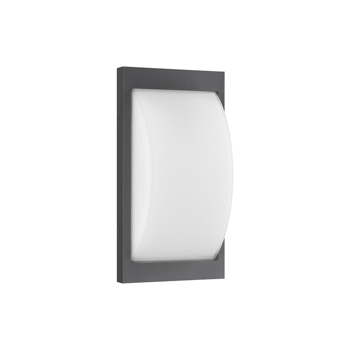LCD Außenleuchten 069 Wandleuchte LED, graphit, ohne Bewegungsmelder