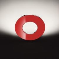Passepartout Parete, Alu, Scheibe: rot glänzend