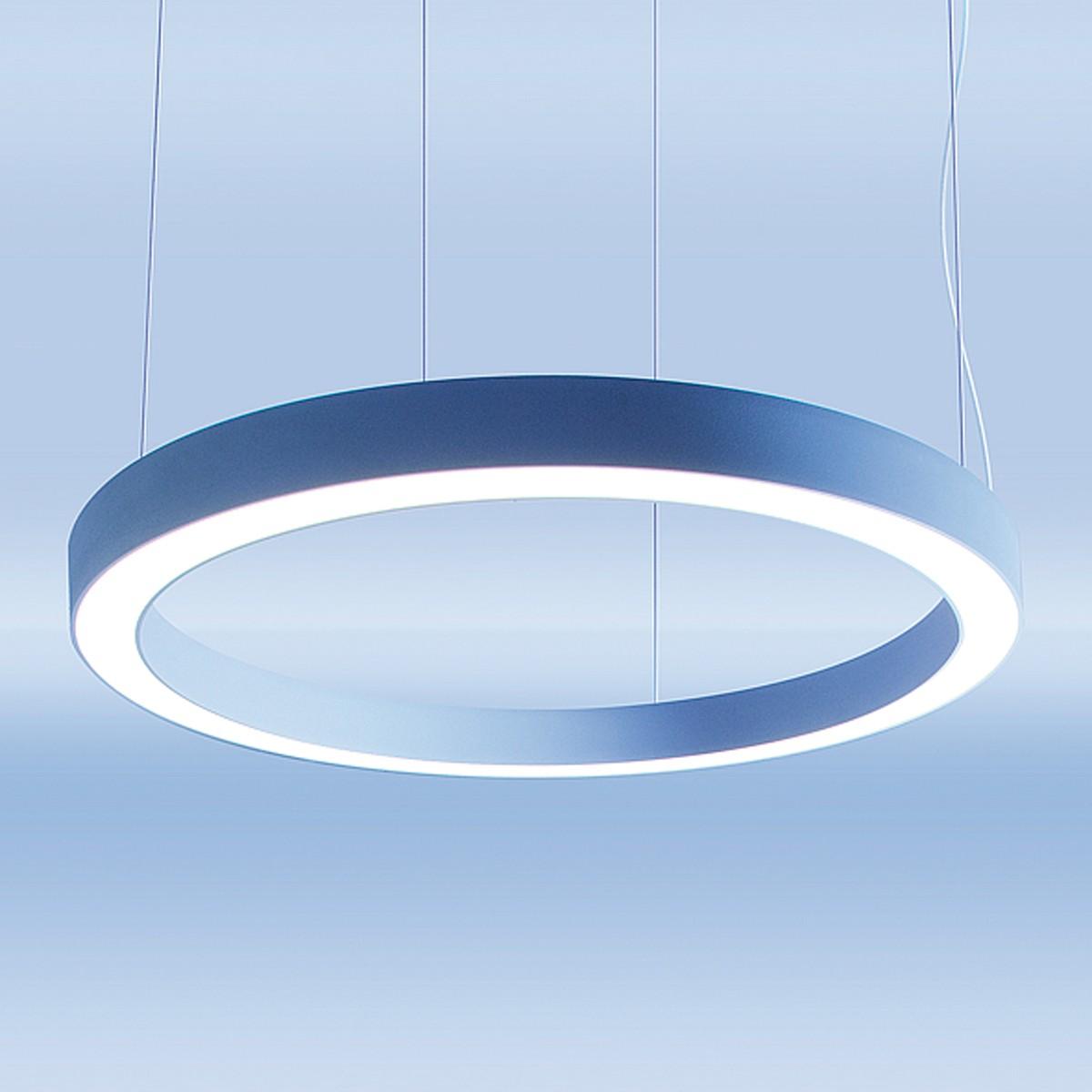 Lightnet Ringo Star-P1 Pendelleuchte, Zentralabhängung, Ø: 60 cm, Silber matt