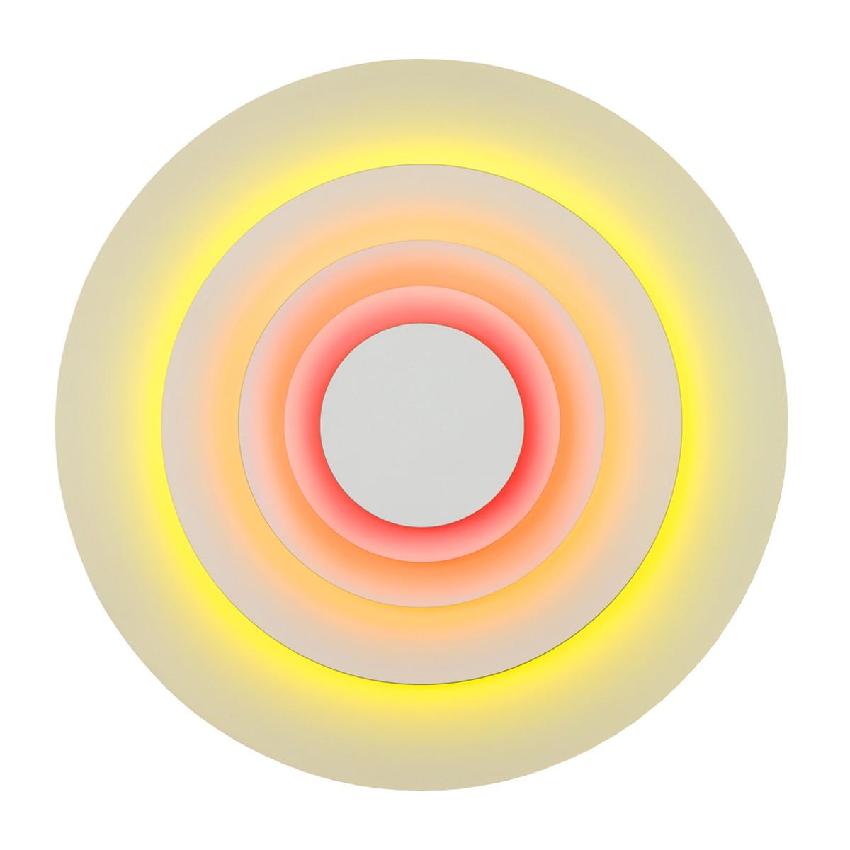 Marset Concentric L LED Wandleuchte, Corona (orange/golden/gelb)