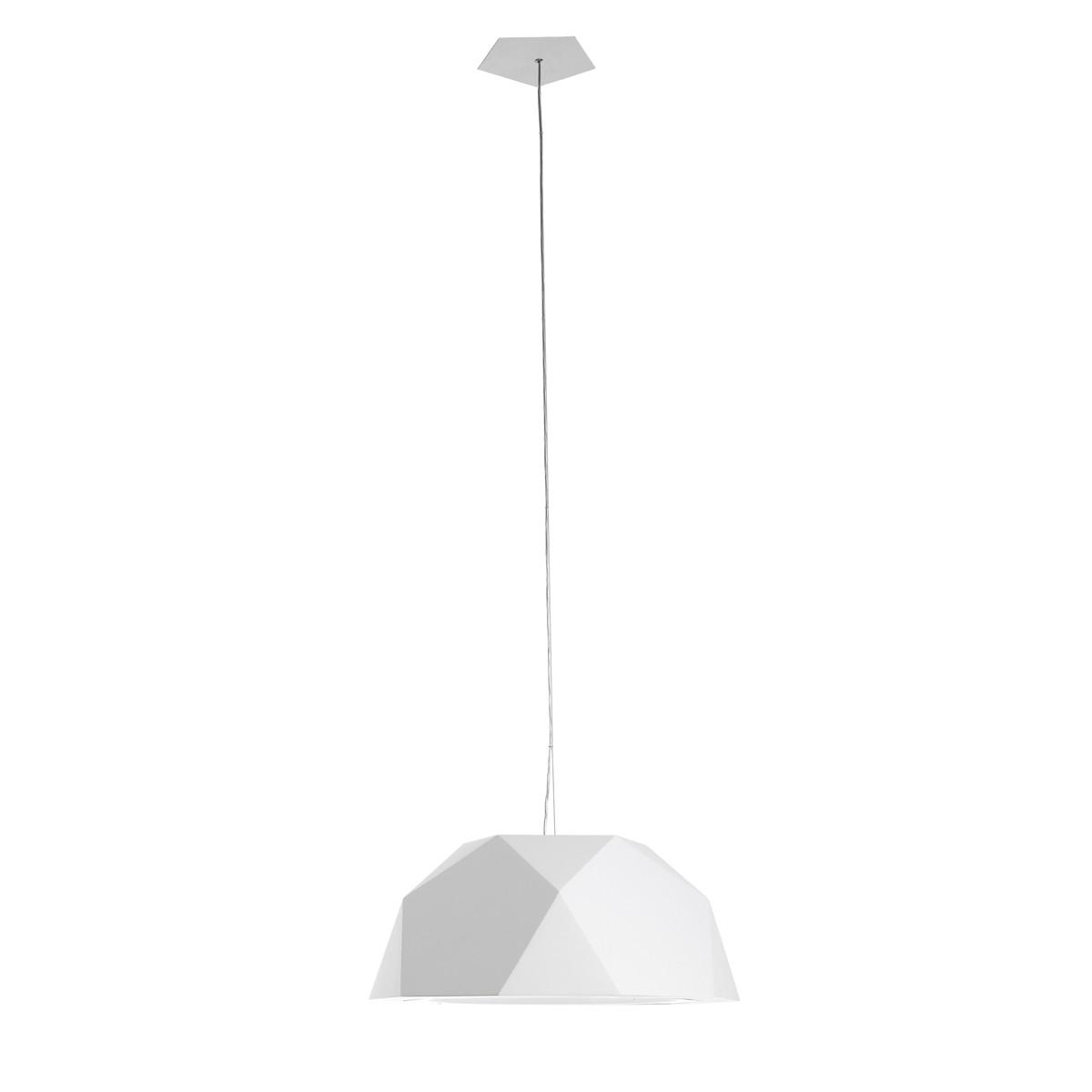 Fabbian Crio Pendelleuchte, Ø: 57,2 cm, weiß