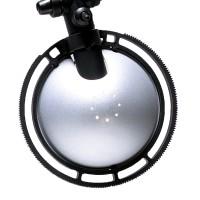 Berenice Tavolo Piccola, Gestell: schwarz, Reflektor: Aluminium