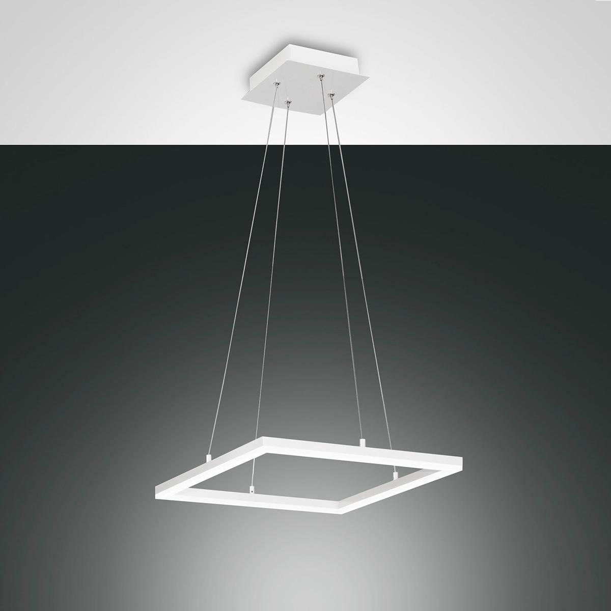 Fabas Luce Bard LED Pendelleuchte, quadratisch 3394-40-102