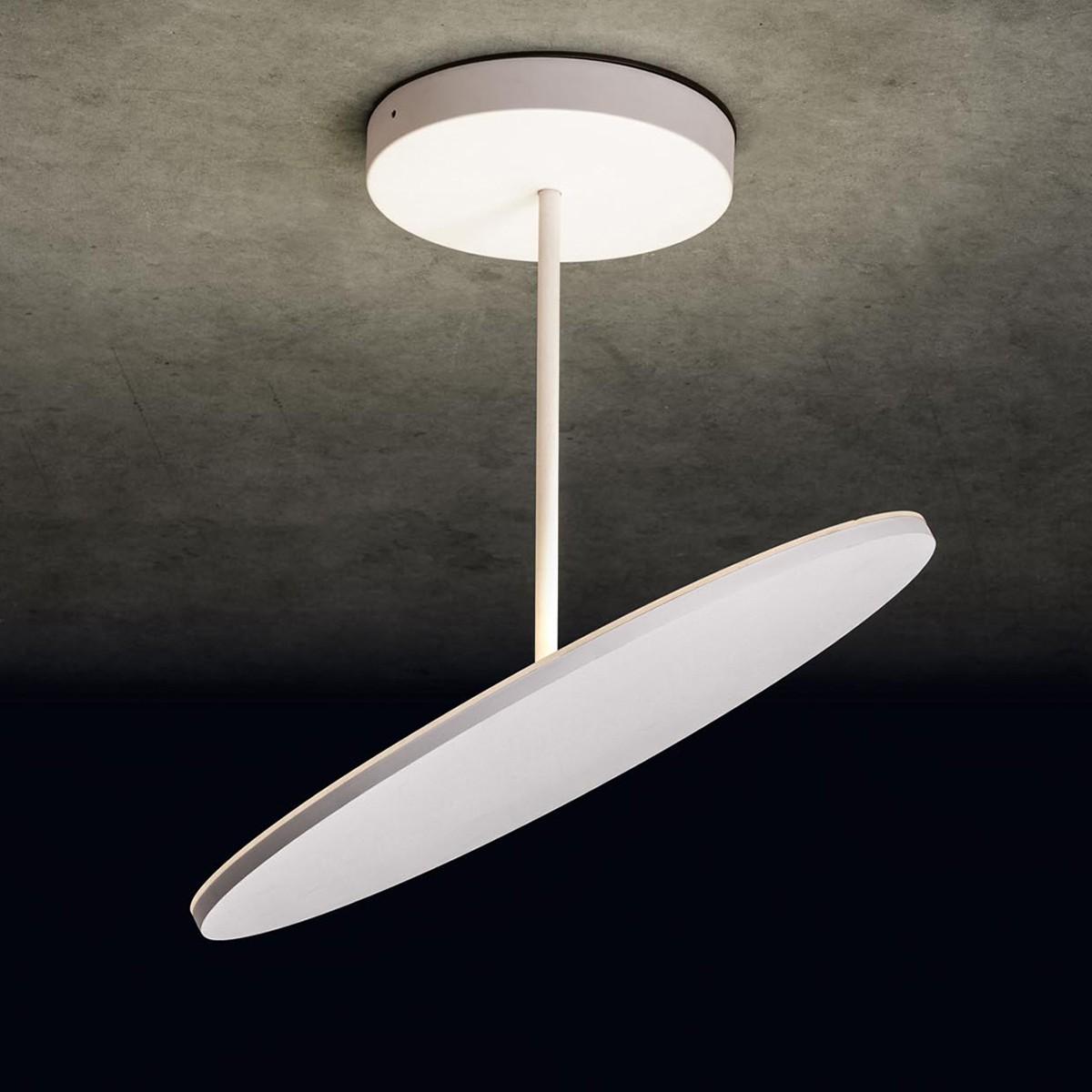 Holtkötter Leuchten Plano XL LED Deckenleuchte, Strukturweiß
