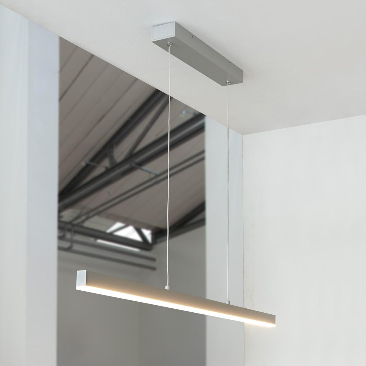 MyLight Condor LED Pendelleuchte, Länge: 90 cm, Aluminium