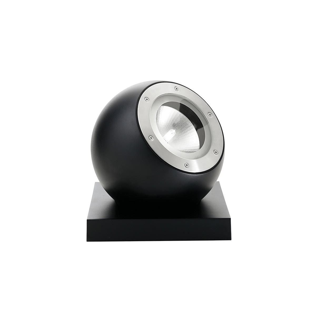 Fabbian Beluga Alu Tischleuchte, schwarz, Fassung: E27