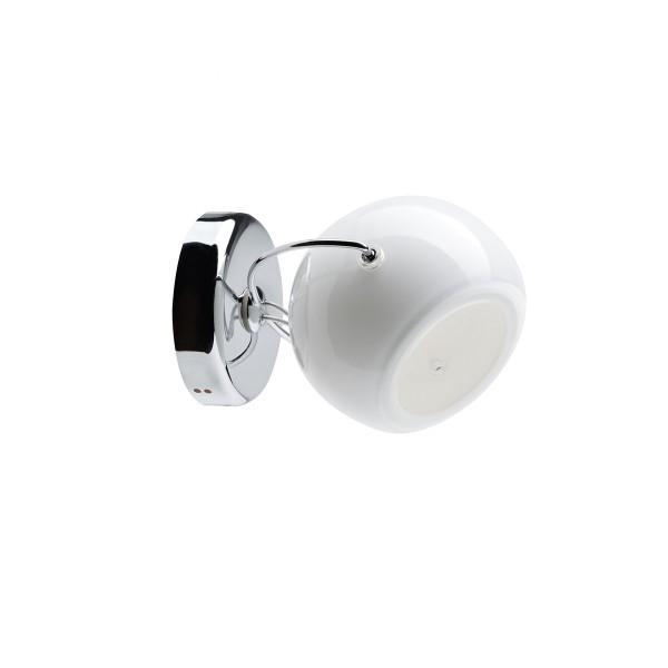Fabbian Beluga White Wand-/Deckenleuchte, 1-flg., weiß (Produktansicht)