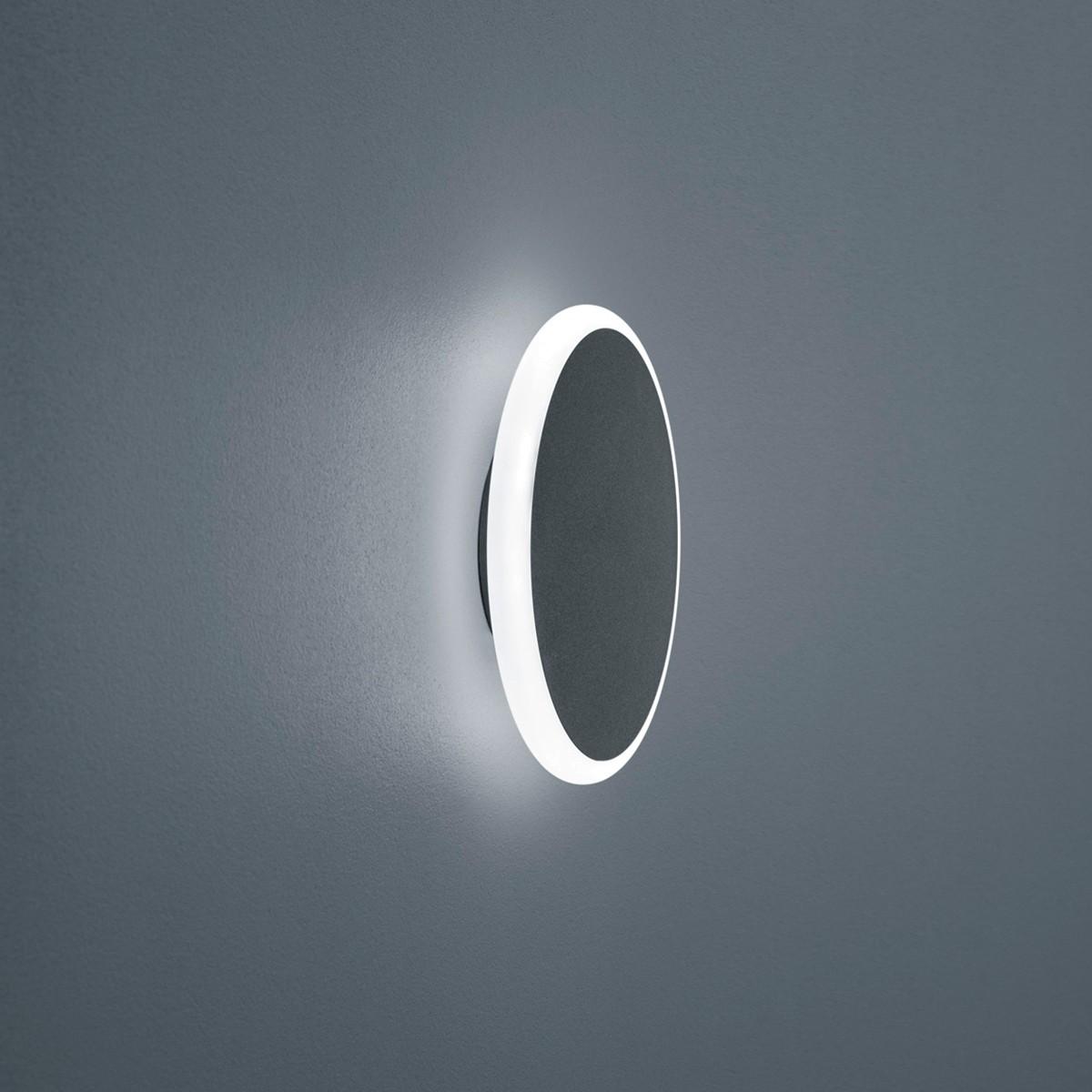 Helestra Solo LED Außenwandleuchte, graphit