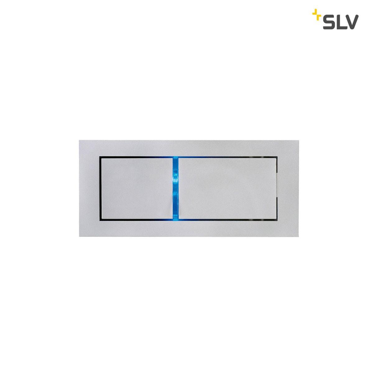SLV Bedside Wandleuchte, Ausführung: links, 3000° K, silbergrau