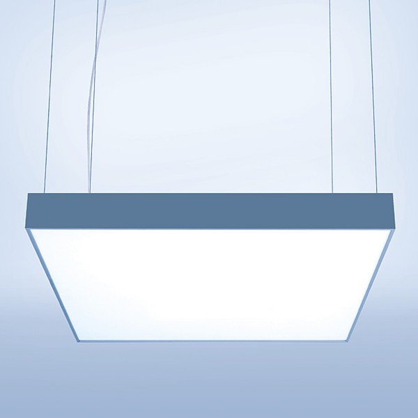 Lightnet Cubic-P2 Pendelleuchte, Aluminium natureloxiert