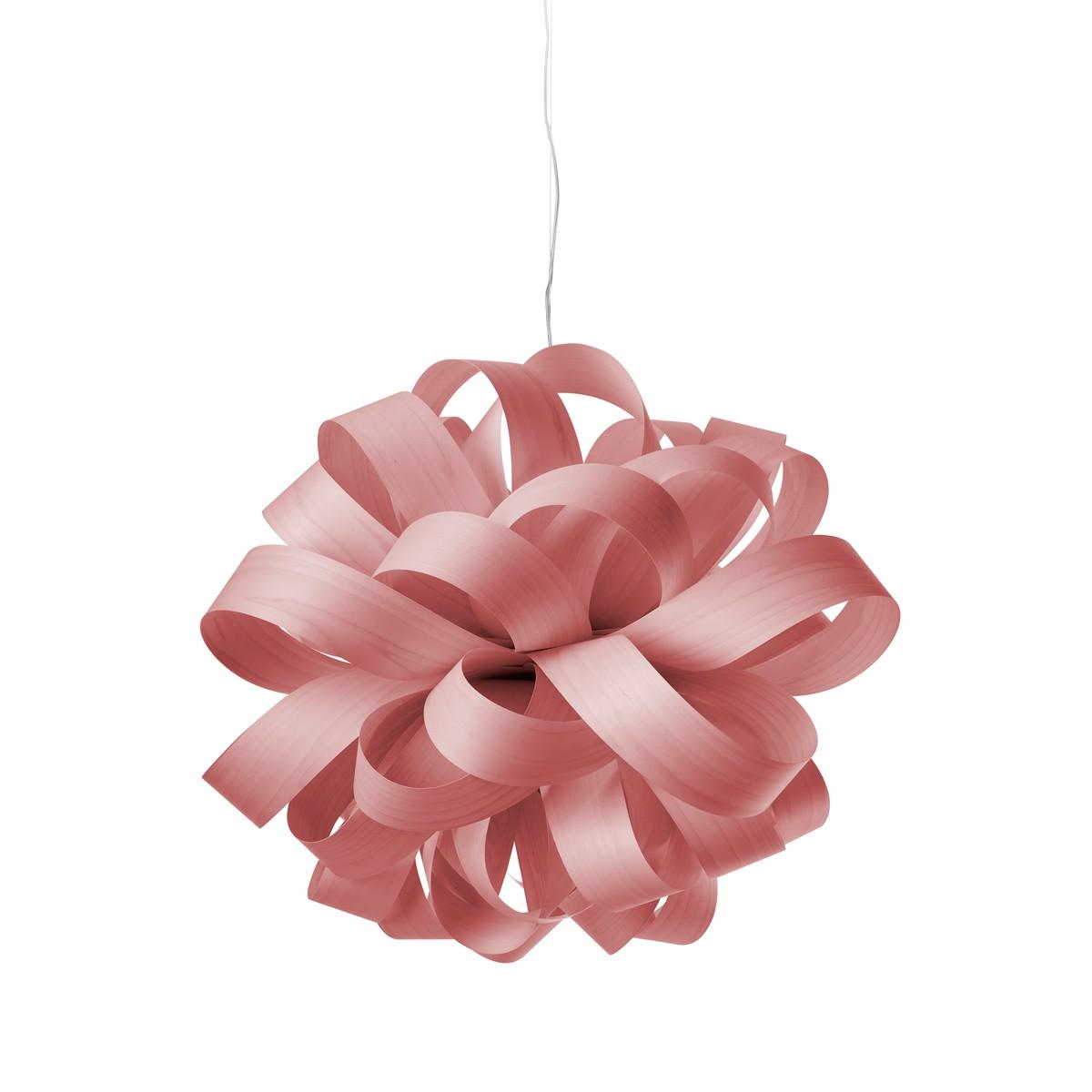 LZF Lamps Agatha Ball Pendelleuchte, pink