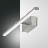 Fabas Luce Nala LED Wandleuchte, Länge: 50 cm, Chrom