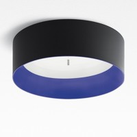 Tagora 570 Deckenleuchte LED, schwarz - blau, dimmbar